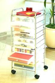 rolling office cart. 15 Drawer Mobile Organizer Rolling Carts For Office Cart Elegant Regarding Stunning Prepare Folding M