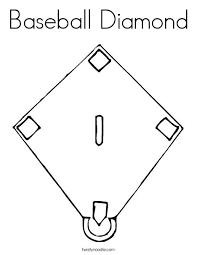 Baseball Field Template Printable Printable Baseball Diamond Baseball Field Template Softball