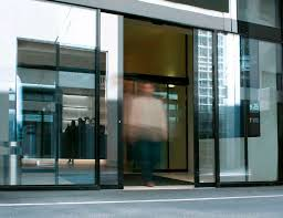 entry door sliding glass automatic
