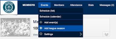 How To Make A League Schedule Create A League Season Sporteasy