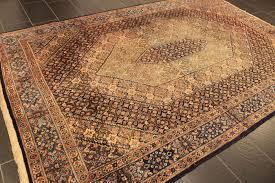 Tappeto Tessuto A Mano : Antico tappeto reale persiano con medaglione mud tessuto a mano