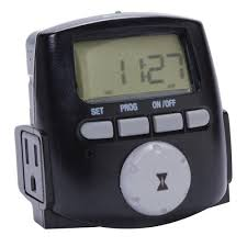 intermatic 1200 watt 7 day digital astronomic landscape timer black