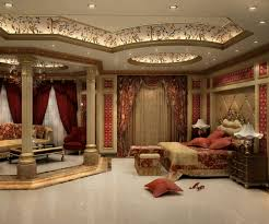 Red And Gold Bedroom Decor Bedroom Ceiling In Red Lights Inspiration Us House And Home