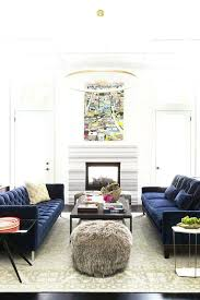 blue sofa decorating ideas interiors modern living room in blue velvet sofas and quartz lined chandelier blue sofa decorating ideas