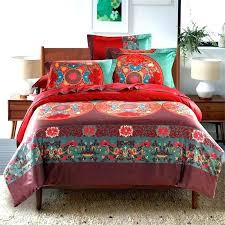 boho quilt set quilt cotton bedding sets queen king size style quilt cover set quilt set