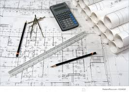 architectural engineering blueprints. Construction Blueprints: Engineering And Architecture Drawings With Calculator Architectural Blueprints