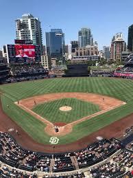 Petco Park Section 301 Row 3 Seat 9 San Diego Padres Vs