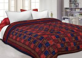 Buy Famacart Double Bed Size Jaipuri Pure Cotton AC Quilt Razai ... & Buy Famacart Double Bed Size Jaipuri Pure Cotton AC Quilt Razai Printed  Winter Quilt Blanket (King Size) Online at Low Prices in India - Amazon.in Adamdwight.com
