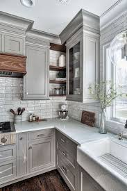 Awesome modern farmhouse kitchen cabinets ideas Kitchen Remodel Awesome Modern Farmhouse Kitchen Cabinets Ideas 19 Pinterest 45 Awesome Modern Farmhouse Kitchen Cabinets Ideas River House
