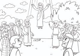 Small Picture Bible App for Kids Coloring Sheets