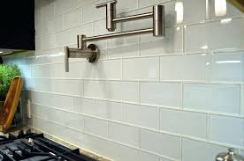 large glass tiles white subway glass tile kitchen for modern kitchen design ideas large size large format glass tile backsplash