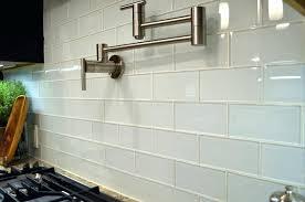 large glass tiles white subway glass tile kitchen for modern kitchen design ideas large size large format glass tile backsplash