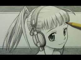 Manga Ideas How To Draw Good Manga How To Draw A Manga Girl With Headphones