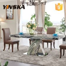 marble top stainless steel dining table a granite marble top stainless steel dining table granite marble top sta