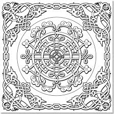 Small Picture Amazoncom Celtic Designs Adult Coloring Book 31 stress