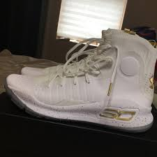 Curry 4 Design Curry 4 White Gold Championship Under Armour