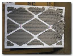 air conditioning filters. dirty air conditioning filters