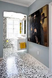 Bathroom Excellent Black And Yellow Bathroom Decoration Using ...