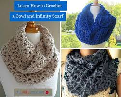 Crochet Infinity Scarf Pattern In The Round