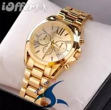 new michael kor watches womens mens watch gold mk55 for