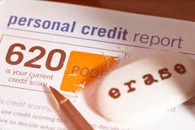 eraser on page led personal credit score report eraser has erased some of the poor