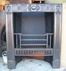 cast iron georgian fire insert