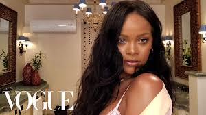 rihanna s epic 10 minute guide to going out makeup beauty secrets vogue