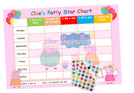 Reusable Reward Charts For Toddlers Potty Toilet Training Reward Chart Personalised Boys Girls
