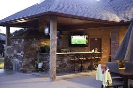 U Bar Outdoor Tv Cabinet