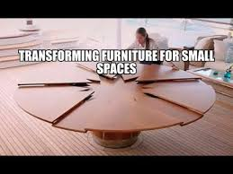 transforming furniture for small spaces. Transforming Furniture For Small Spaces
