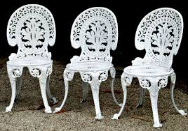 white iron garden furniture.  garden amazing elegance not comfort white painted cast iron garden seats chairs  with metal patio furniture 17 on p