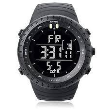 palada men s t7005g sports digital wrist watch quartz movement palada men s outdoor waterproof sport arc shaped glass led digital watch