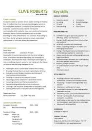 cv shop assistant retail cv template sales environment sales assistant cv shop work