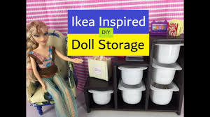 dolls house furniture ikea. Easy Diy- How To Make: Doll Storage - Ikea Inspired || Dollhouse Furniture Crafts Dolls House N