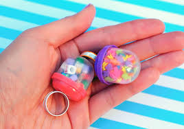 Vending Machine Ring New DIY Vending Machine Bubble Ring Colection Hand Made