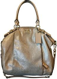 Coach Satchel in Gold ...