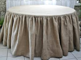 circular tablecloth cloth tablecloths linen how to make round for occasional tables