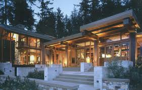 northwest modern home architecture. Beautiful Architecture View In Gallery Bainbridge Island House Of Ancient Wood Awesome Views 1  Thumb 630x402 9800 Beautiful For Northwest Modern Home Architecture