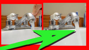 easy fix for low water pressure in kitchen sink or bathroom sink you