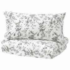 ikea alvine kvist duvet cover and pillowcase s white king 001 596 36 new for