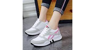 CIAFMK <b>Women's</b> Shoes <b>Running Shoes</b> White Sports Shoes ...