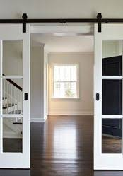 good idea if you find salvaged french doors that are too tall for the door frameuse barn hardware i would like something this office 5 exterior sliding garage t38 sliding
