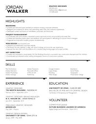 Resume Graphic Design Illustration Identity And Branding