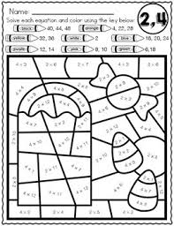 More 100 coloring pages from coloring pages for adults category. Halloween Math Multiplication Color By Number Worksheets By Kim Heuer