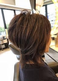 画像1つ目 40代50代60代ヘアスタイルショートの記事より Hair