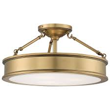 Flush Mount Kitchen Ceiling Light Fixtures Flush And Semi Flush Ceiling Lighting At Bellacor