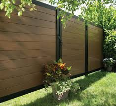 fence. Modern \u0026 Contemporary Mixed Material Fencing Fence