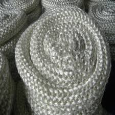 fireproof glass fibre rope 10mm white oven door sealing rope images