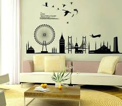 living room wall decals gallery wall stickers living room large wall stickers for living room india