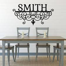 personalized custom name scroll vinyl wall art decal on personalized vinyl wall art message with personalized family vinyl message wall art walmartcom personalized